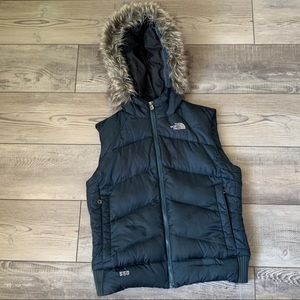 The North Face puffer 550 vest